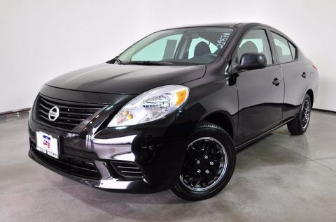 Pre-Owned 2014 Nissan Versa S FWD 4dr Car