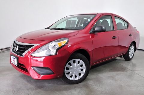 Certified Pre-Owned 2016 Nissan Versa 1.6 S Plus FWD 4D Sedan