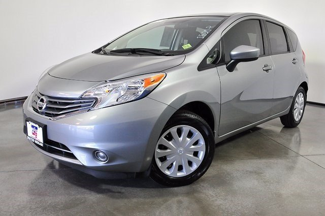 pre owned 2015 nissan versa note s plus hatchback in las. Black Bedroom Furniture Sets. Home Design Ideas