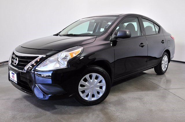 pre owned 2015 nissan versa 1 6 sv 4dr car in las vegas. Black Bedroom Furniture Sets. Home Design Ideas